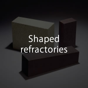 Shaped refractories